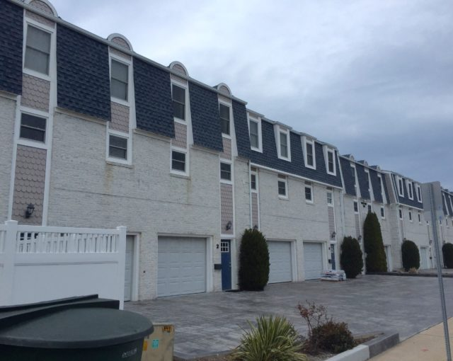 shingles on multi unit property