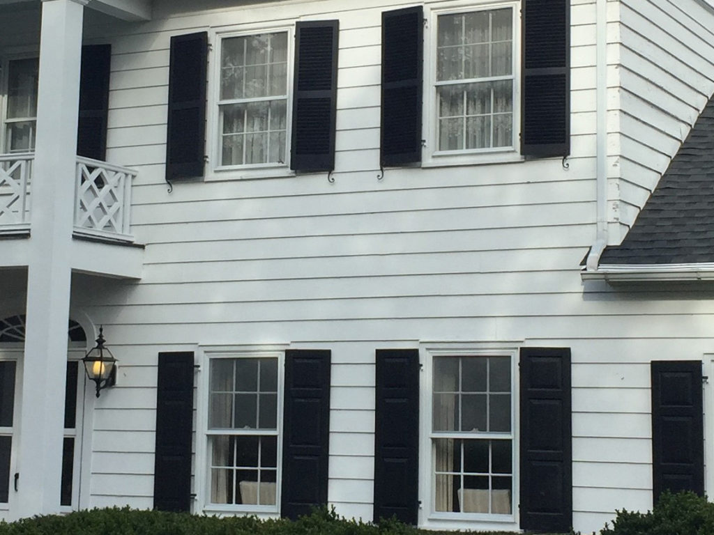 vinyl siding on residential property