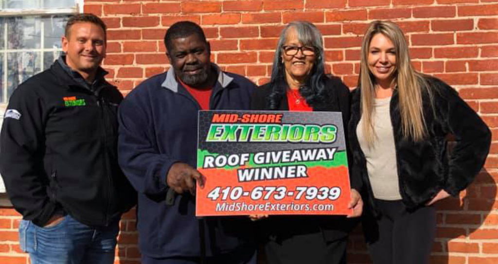 2020 free roof giveaway winners mid shore exteriors