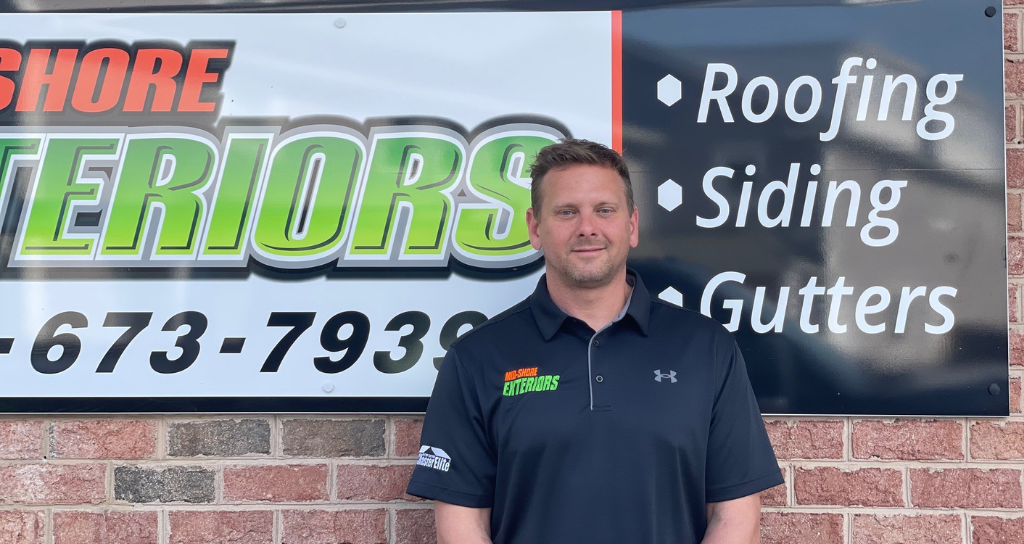 CEO of Roofing Company in Eastern Shore MD