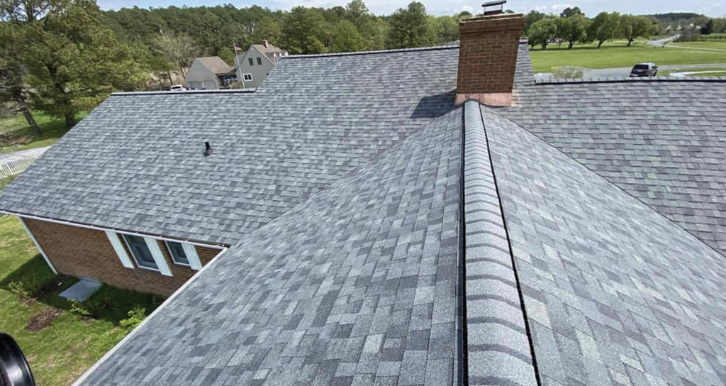 Asphalt shingle roof in Trappe MD