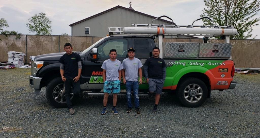 Mid-Shore Exteriors Roofing Crew in Salisbury MD