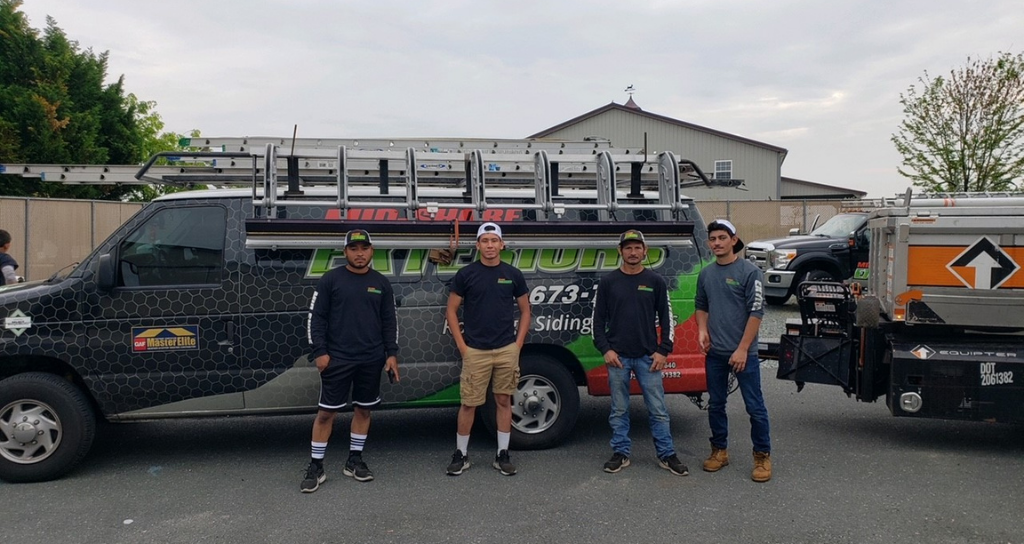 Mid-Shore Exteriors roofing team in Maryland